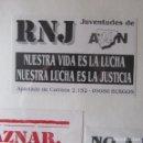 Pegatinas de colección: PEGATINA POLITICA. Lote 165762346