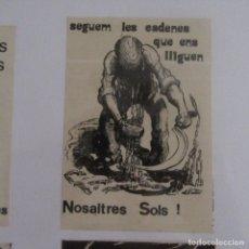 Pegatinas de colección: PEGATINA POLITICA TRANSICION. Lote 166838858
