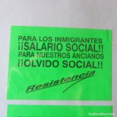 Pegatinas de colección: PEGATINA POLITICA TRANSICION . Lote 167839304