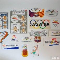 Pegatinas de colección: LOTE DE PEGATINAS OLIMPIADAS 1992 BARCELONA ( VARIADO ). Lote 168814052