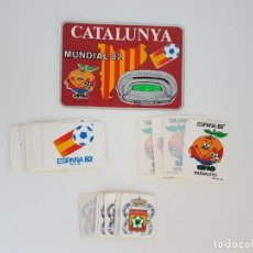 Pegatinas de colección: LOTE DE PEGATINAS ESPAÑA 82 ( FÚTBOL ). Lote 168814324