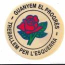 Pegatinas de colección: PSC-PSOE, AÑOS 80. Lote 169337120