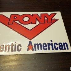 Pegatinas de colección: PEGATINA PONY AUTHENTIC AMERICAN. Lote 169469500