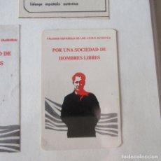 Pegatinas de colección: PEGATINA POLITICA TRANSICION. Lote 169894064