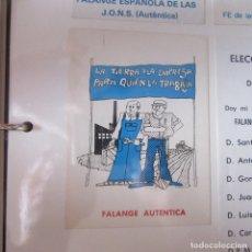 Pegatinas de colección: PEGATINA POLITICA TRANSICION. Lote 169895364