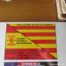Pegatinas de colección: PEGATINA POLITICA TRANSICION. Lote 169896032
