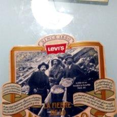 Pegatinas de colección: LEVI'S LA FIEBRE DE LO AUTENTICO. Lote 170379553
