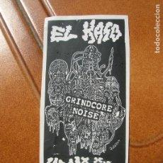 Pegatinas de colección: PEGATINA EL KASO URKIJO ,GRINCORE NOISE. Lote 171812019