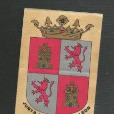 Pegatinas de colección: PEGATINA JUNTA DE CASTILLA Y LEON. Lote 171895897