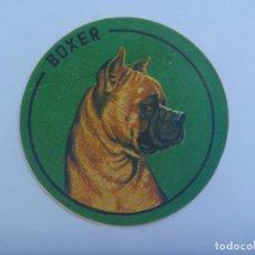 Pegatinas de colección: PEGATINA DE RAZA DE PERRO : BOXER. Lote 172380714