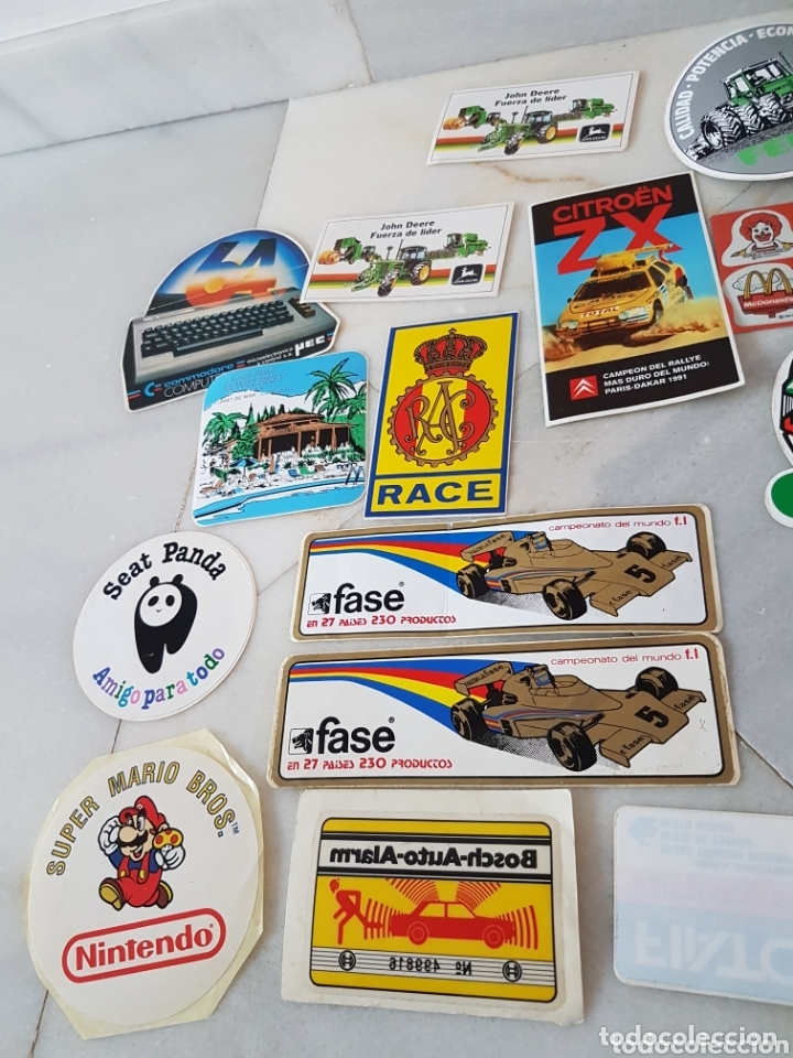 Pegatinas de colección: Lote pegatinas adhesivos - Foto 2 - 173024489