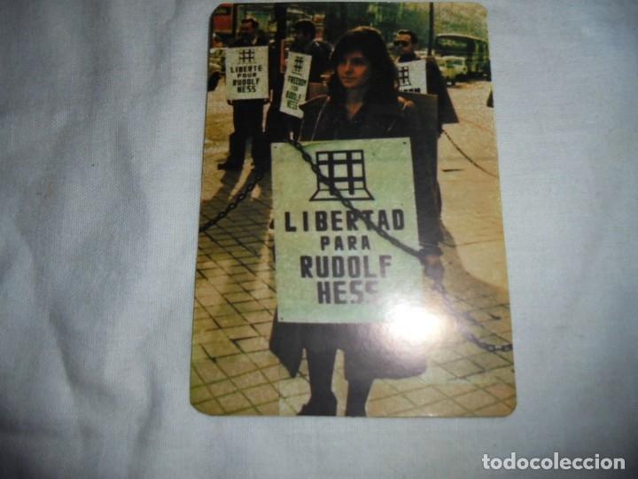 PEGATINA POLTICA LIBERTAD PARA RUDOLF HESS (Coleccionismos - Pegatinas)