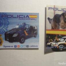 Pegatinas de colección: LOTE PEGATINAS PEUEÑAS POLICIA NACIONAL ESPAÑA. Lote 173355107