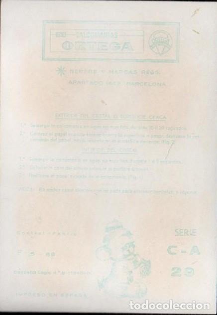 Pegatinas de colección: C17-2- 29 Control F-9-66 Calcomanias ORTEGA Automoviles ANTIGUOS Serie C - A Nº 29. - Foto 2 - 173615477
