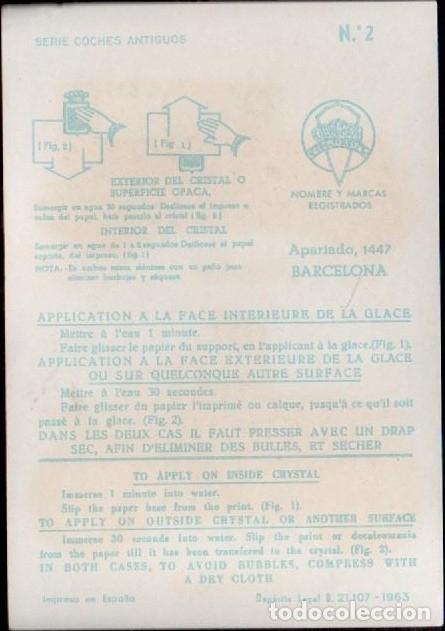 Pegatinas de colección: C17-3-2 Calcomanias ORTEGA Serie COCHES ANTIGUOS nº 2. - Foto 2 - 173615678
