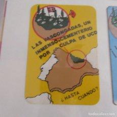 Pegatinas de colección: PEGATINA POLITICA TRANSICION. Lote 173645588