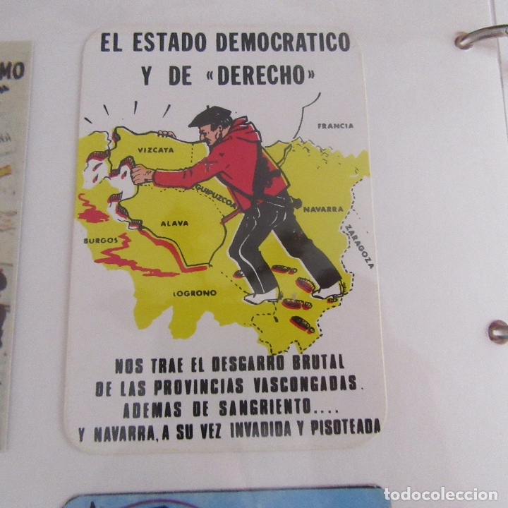 PEGATINA POLITICA TRANSICION (Coleccionismos - Pegatinas)
