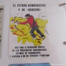 Pegatinas de colección: PEGATINA POLITICA TRANSICION. Lote 173645590