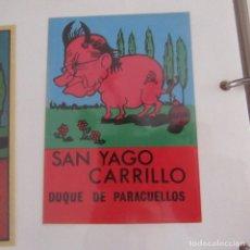 Pegatinas de colección: PEGATINA POLITICA TRANSICION. Lote 173646897