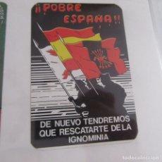 Pegatinas de colección: PEGATINA POLITICA TRANSICION. Lote 173647078