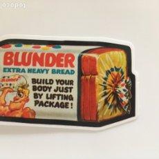 Pegatinas de colección: PEGATINA . BLUNDER EXTRA HEAVY BREAD.TDKP14. Lote 173701854