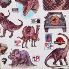 Pegatinas de colección: ROLLO DE PAPEL PLASTIFICADO ADHESIVO - JURASIC PARK - CAR157. Lote 173835918