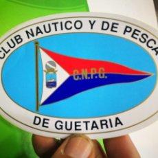 Pegatinas de colección: PEGATINA CLUB NÁUTICO Y DE PESCA DE GUETARIA C.N.P.G.. Lote 173990585