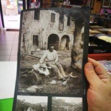 Pegatinas de colección: PEGATINAS EL LIBRO DE ORO DE BIZKAIA FOTO 120 Y 102. Lote 174007188