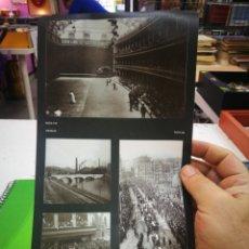 Pegatinas de colección: PEGATINAS EL LIBRO DE ORO DE BIZKAIA FOTO 110-54-95 Y 92. Lote 174007369
