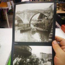 Pegatinas de colección: PEGATINAS EL LIBRO DE ORO DE BIZKAIA FOTO 112 Y 53. Lote 174007713