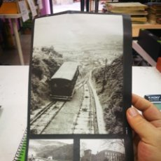 Pegatinas de colección: PEGATINAS EL LIBRO DE ORO DE BIZKAIA FOTO 11-75 Y 93. Lote 174007752