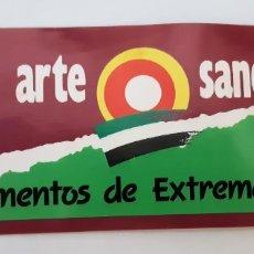 Pegatinas de colección: PEGATINA ARTE-SANO, AÑOS 80, TAMAÑO 18X6 (NUNCA ENGANCHADA). Lote 174340674