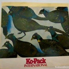 Pegatinas de colección: PEGATINA KO-PACK INTERNACIONAL, AÑOS 80, TAMAÑO 15X14 (NUNCA ENGANCHADA). Lote 174341085