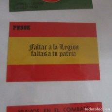 Pegatinas de colección: PEGATINA POLITICA TRANSICION. Lote 174970819