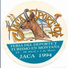 Pegatinas de colección: JACA SPORT 94. Lote 175258744