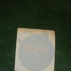 Pegatinas de colección: ANTIGUA CALCOMANIA PATO LUCAS. Lote 176148722