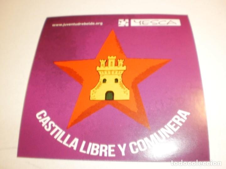 PEGATINA, PEGATINAS, ADHESIVO, ADHESIVOS YESCA (IZQUIERDA CASTELLANA, INDEPENDENTISTAS) 2019 (Coleccionismos - Pegatinas)