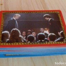 Pegatinas de colección: LOTE 100 CROMOS PEGATINAS HARRY POTTER Y LA CÁMARA SECRETA - PANINI. Lote 176510805