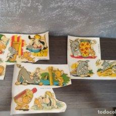 Pegatinas de colección: CALCOMANIAS ORTEGA TOM Y JERRY HANNA BARBERA VINTAGE AÑOS 60. Lote 176575464