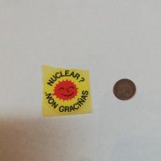 Pegatinas de colección: NUCLEAR NON GRACIÑAS. Lote 177407125