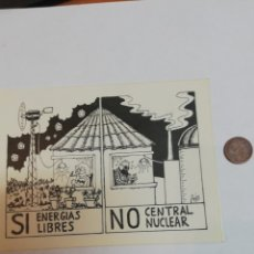 Pegatinas de colección: PEGATINA SI ENERGIAS LIBRES. Lote 177407383