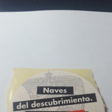 Pegatinas de colección: TRAVESÍA '90. QUINTO CENTENARIO. 8 CM. SIN PEGAR.. Lote 178262586