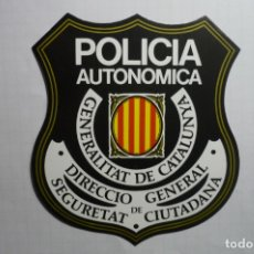 Pegatinas de colección: PEGATINA POLICIA AUTONOMICA GENERALITAT CATALUNYA. Lote 178558263