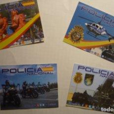 Pegatinas de colección: LOTE PEGATINAS POLICIA NACIONAL. Lote 178624353