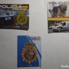 Pegatinas de colección: LOTE PEGATINAS POLICIA NACIONAL. Lote 178624435