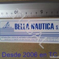 Pegatinas de colección: TUBAL PUERTO DE EL TERRON LEPE BELLA NAUTICA S L B04. Lote 178949717