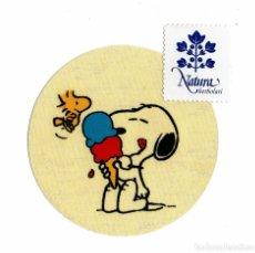 Pegatinas de colección: SNOOPY ADHESIVO PEGATINA. Lote 178997868