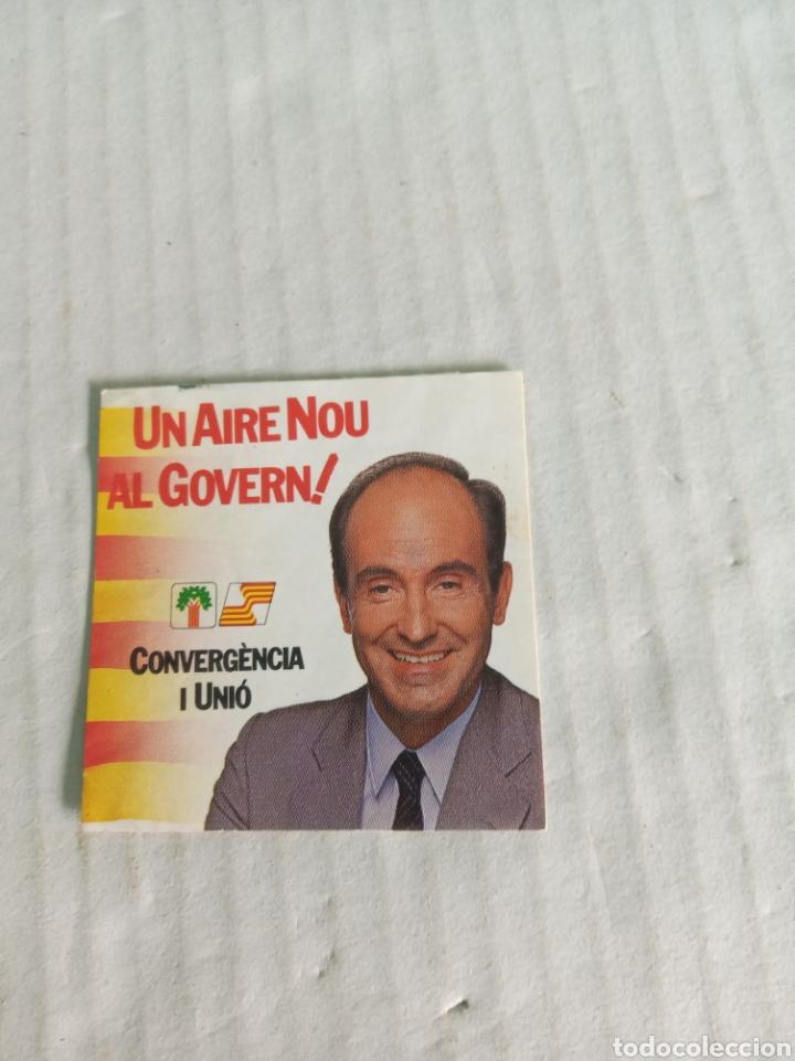 CONVERGENCIA Y UNIO (Coleccionismos - Pegatinas)