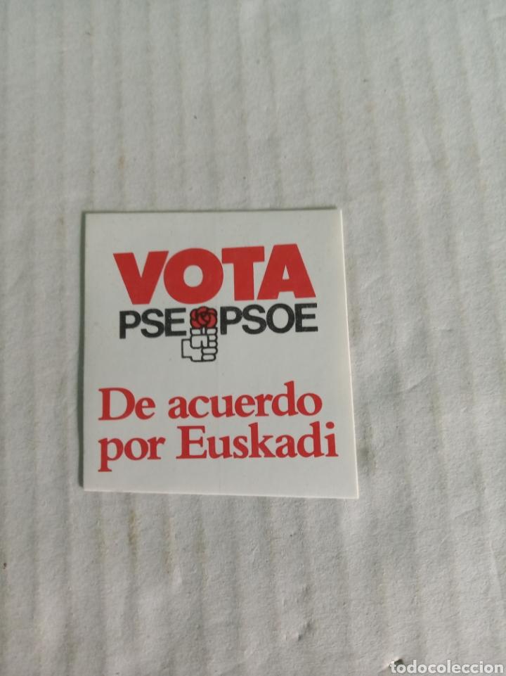 PSOE (Coleccionismos - Pegatinas)
