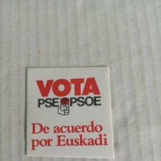 Pegatinas de colección: PSOE. Lote 179062705